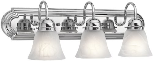 Kichler 5337CH Three Light Bath