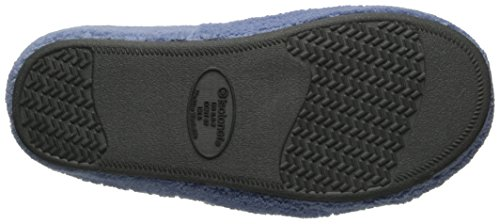 Memory Slip Indoor Slide Outdoor ISOTONER Foam with On Slipper Women's Spa Terry Blue Moon Comfort for awgqW8BU