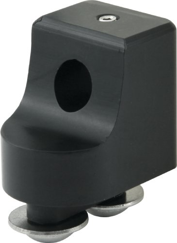 Allstar ALL54269 Black Anodized Throttle Bracket Replacement End for Morse Style Throttle Cable by Allstar
