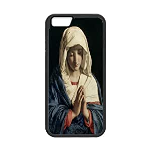 The virgin Mary and angel Hard Plastic phone Case Cover+Free keys stand For SamSung Galaxy S4 Case ZDI042353