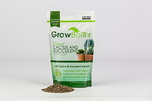 GrowBetter Organic Cactus & Succulent Fertilizer