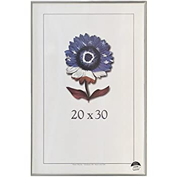 20x30 Shiny Silver Metal Picture frame