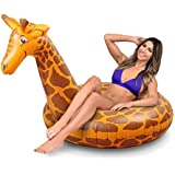 GoFloats Stretch the Giraffe Party Tube Inflatable Raft