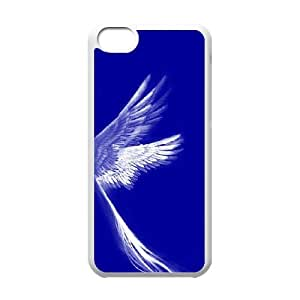 Iphone 5C The wings of an angel Phone Back Case Personalized Art Print Design Hard Shell Protection JK020231