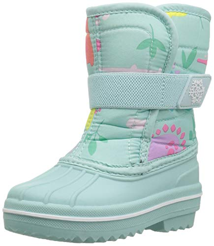 The Children's Place Girls Snow Boot, Mint Tea, TDDLR 6 Child US Toddler by The Children's Place (Image #1)