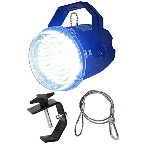 American DJ ADJ Big Shot LED II White LED Strobe Light Effect+Clamp+Safety Cable American Dj Strobe Pack