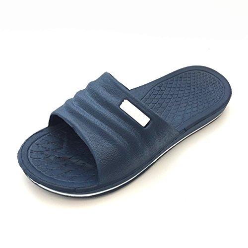 Gezer - Sandalias de vestir para hombre Azul