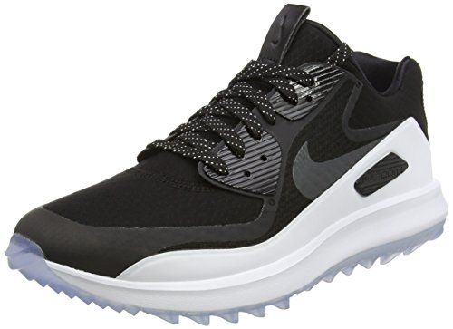 - Nike Air Zoom 90 IT Spikeless Golf Shoes 2017 Black/White/Volt/Anthracite Medium 8