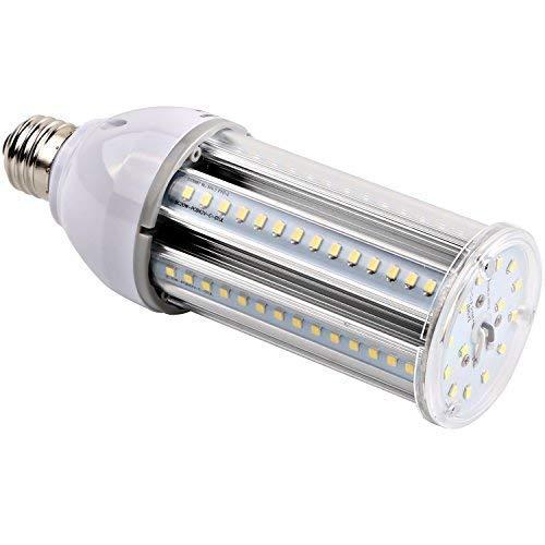 Hykolity 20W LED Corn Light Bulb, Omni 2400lm E26 Medium Base Corn Light for Barn Light, Post Top Light, Goose Neck Light, Working Light, Low Bay Canopy, 100W - Bulb Metal Halide Cl