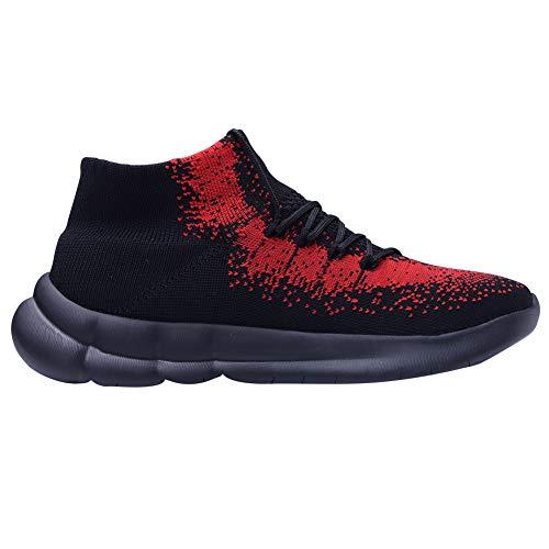 EU Black TIOSEBON Red 8817 Sneaker Uomo HK8817 40 xwgPq0S1g