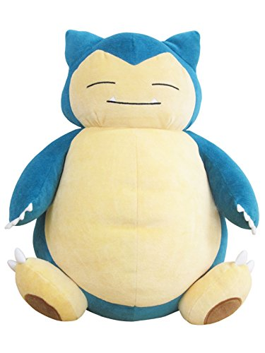 Sanei Pokemon All Star Collection PZ04 Snorlax/Kabigon Stuff