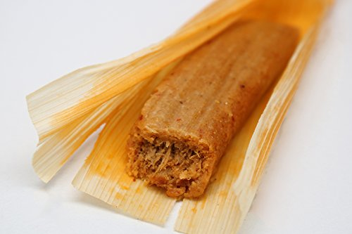 Chicken Tamales: One Dozen Tamales Made with Authentic Mexican Spices, Slow-Cooked Chicken, and Gluten Free Red -