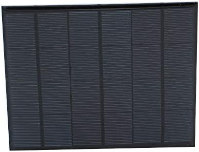 Growment 6V 3.5W Sonnenkollektor Portable Sunpower DIY Modul Panel System fuer Solar Lampe Batterie Spielzeug Telefon Ladegeraet Solarzellen