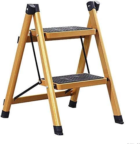 Taburete Escalera Taburete de Paso de Escalera, Escalera Presidente, Cocina Dormitorio, Escalera Plegable Cubierta de heces de múltiples Funciones del hogar (Size : A): Amazon.es: Hogar