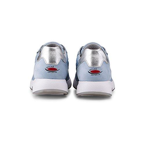 Gabor Rollingsoft Scarpe Sportive In Blu Oversize 86.944.34 Scarpe Da Donna