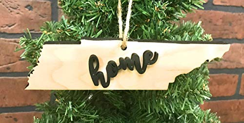 (Tennessee State Ornament Keepsake Decoration Holiday Gift Home Ornie Party Favor )