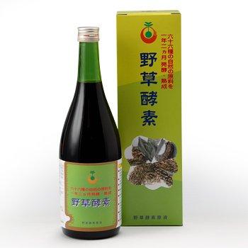 66品目の栄養素がたっぷり!野草酵素 (720ml) B0096HPNFA