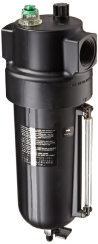 Dixon L17-800D Norgren Series Oil-Fog Lubricator with Metal Bowl and Sight Glass, 1