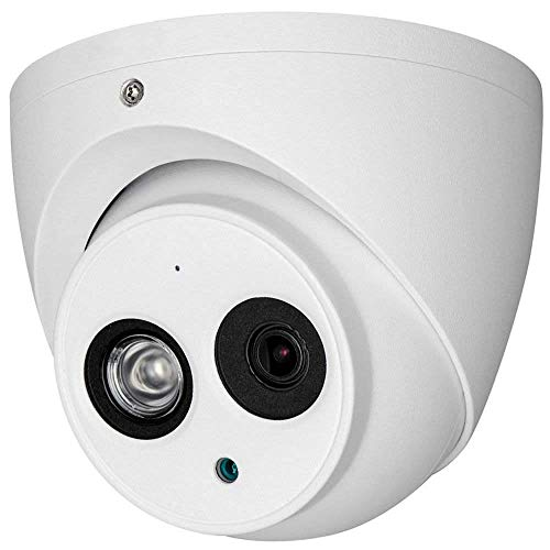 Q1C1 / Dahua OEM HAC-HDW1200EM-A 2MP HD-CVI TVI AHD 960H Security Camera Built in Mic Audio, Indoor Outdoor Smart IR Infrared Night Vision, for Home CCTV Surveillance Matrix EXIR Dome Camera