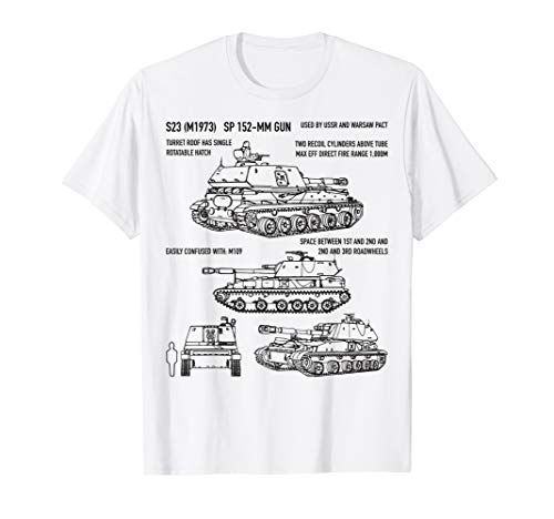 2S3 Akatsiya Soviet Russian Self-Propelled Gun T-Shirt Gift