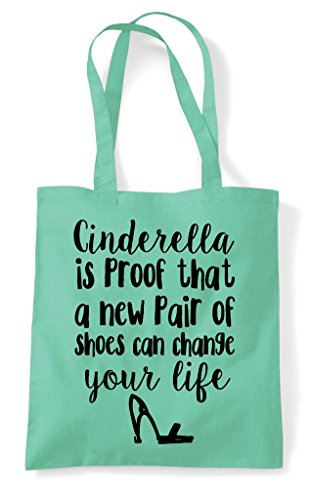 That Mint Life Bag Change Of Pair Proof Cinderella Tote Is A Shoes Can Your New Shopper qFZTFEwP