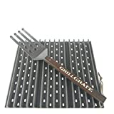 GrillGrate Set of Three 13.75' (Interlocking) + Grate Tool
