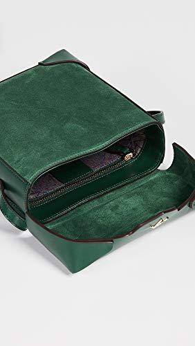 Monte MANU Pristine Women's Bag Green Atelier Mini Box Green Emerald HPZwgqS