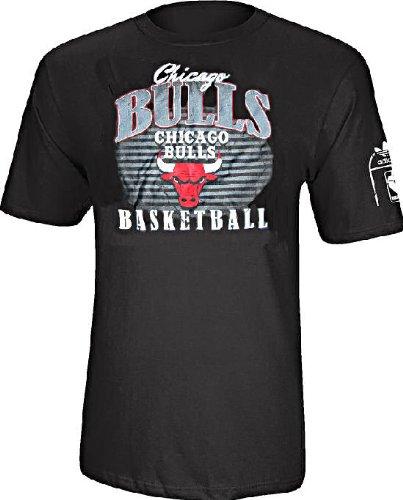 adidas Chicago Bulls Baloncesto S/S Atleta Fit Camiseta ...