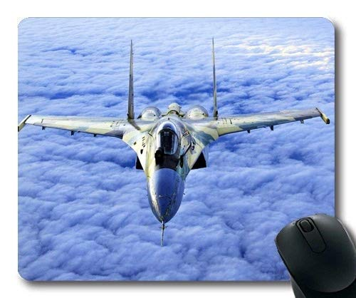 (Fighter Planes,Mouse pad,Fighter of The Destiny,Mouse Pad with Stitched Edges )