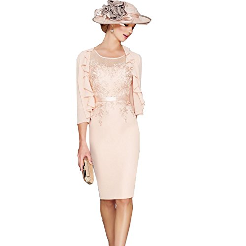 mother of the bride dresses and coat - 9