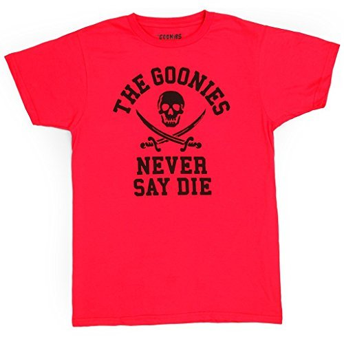 03fa0ac30 ... Men's Official The Goonies Never Say Die Red T-shirt - M to 3XL