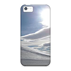 5c Scratch-proof Protection Cases Covers For Iphone/ Hot Contrast In The Alps Phone Cases