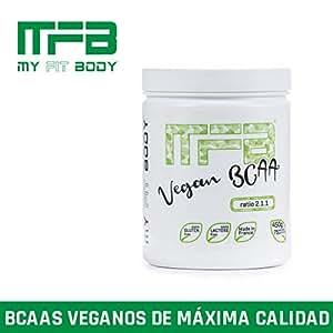 MYFITBODY Aminoácidos bcaa's vegano sabor neutro - 450 gr
