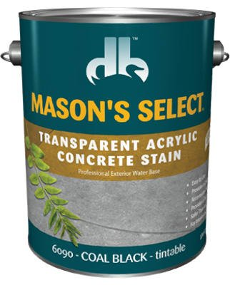 Voc Conc Stain - Duckback Products DB-6090-4 Mason Concentrate Stain, Black