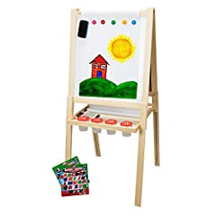 Creating the perfect easel to inspire your child is not an easy task. There are literally thousands of children's art easels. So what is the best? Well, it is important to keep in mind that your child will grow. To make sure you are getting t...