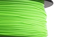 HATCHBOX 3D ABS-1KG1.75-802C ABS 3D Printer Filament, Dimensional Accuracy +/- 0.05 mm, 1 kg Spool, 1.75 mm, Neon Green by HATCHBOX