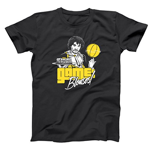 Game: Blouses! Funny Game Blouses Comedy Sketch Skit Prince Retro Old School HipHop Hip Hop Urban Show Humor Mens Shirt Medium - Yellow Donkey T-shirt