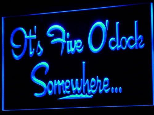 ADV PRO i574-b It's 5 O'Clock Somewhere MARGARITA Light (Margarita Neon Sign)