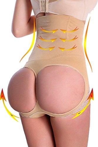 beautyin-womens-butt-lifter-shaper-seamless-tummy-control-h-waist-thigh-slimmerbeigeprimexl-2xlwaist