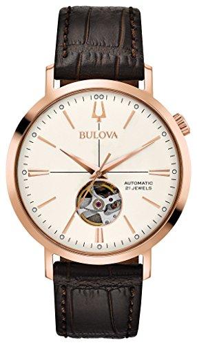Bulova 97A136 Mens CLASSIC 21 Jewels Automatic Watch