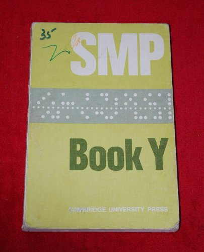 Smp Book Y (School Mathematics Project Lettered Books)