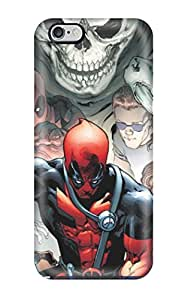 Durable Defender Case For iphone 5s Tpu Cover(deadpool)