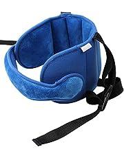 Gidenfly Autostoel hoofdsteun,Verstelbare peuter autostoel hoofd steunband, autostoel riemen Cover, Veiligheid autostoel nek Relief Baby autostoel hoofd ondersteunt voor auto vliegtuig reizen