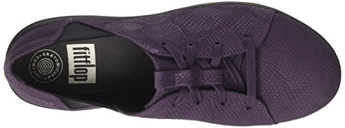 Fitflop Donna Plum Deep Sneaker Sporty Laceup Viola F axBaqwO