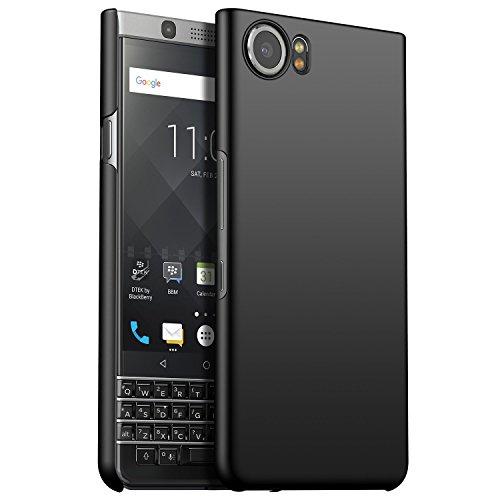 BlackBerry Keyone Case Cover, CiCiCat Slim Hard PC Back Cover Shell Case, Stylish Strong Thin Protective Case for BlackBerry Keyone Smartphone (Black, BlackBerry Keyone 4.5'')