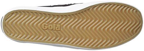 Gola Mens Dalbana Mode Sneaker Svart / Svart / Vit