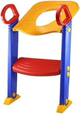 SODIAL nuevo bebé y niños para niños inodoro orinal silla para entrenamiento paso UP escalera Sistema: Amazon.es: Bebé