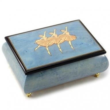 人気の春夏 Made In Italy ( Sorrento Inlaid Sorrento ) Balerina Largeライトブルー – Music Box Dancer ( Sankyo 18-notes ) B01CLRJMYY, Blumin:5024a4b5 --- arcego.dominiotemporario.com