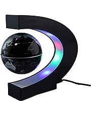 مصباح LED على شكل C لخريطة العالم العالم طافو جلوب تلوريون المغناطيسي ضوء مضاد للجاذبية السحر/الجديدة ديكور المنزل