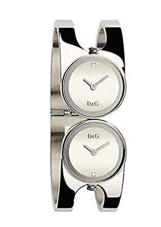 watch anne ladies klein bangle watches steel dial stainless silver
